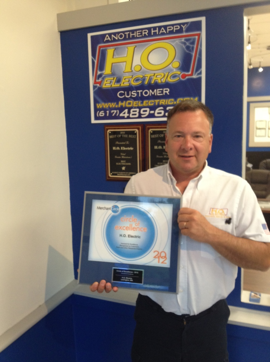 Circle of Excellence awarded to H.O. Electric