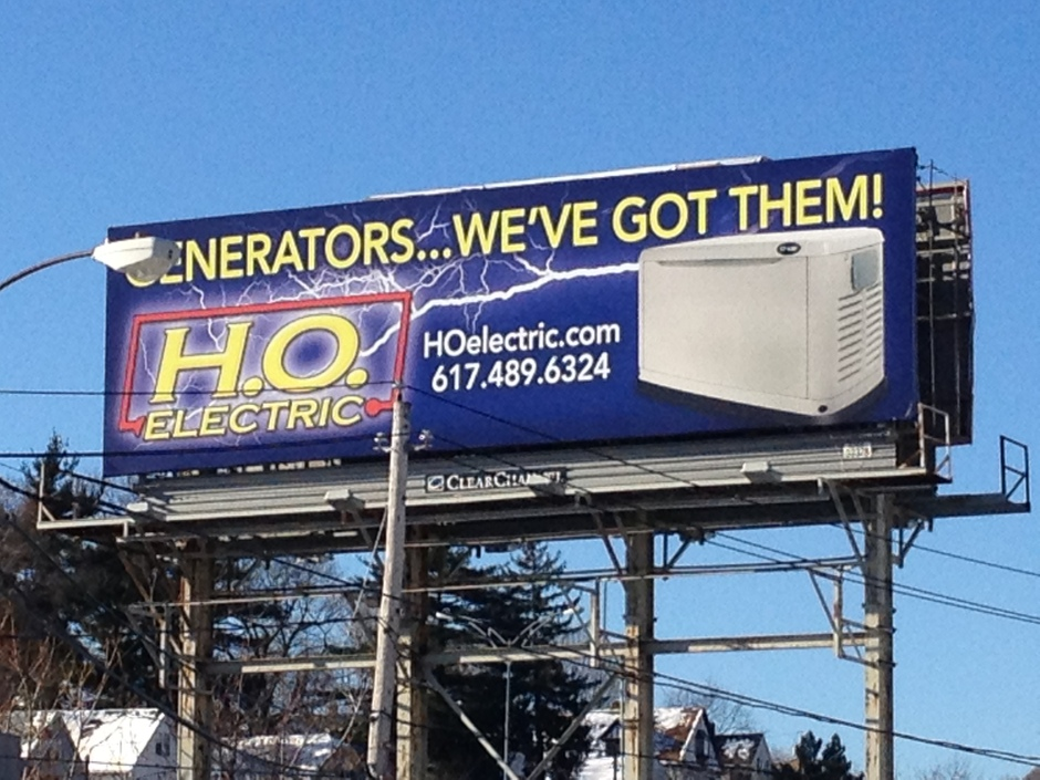 Generators.... We've Got Them!